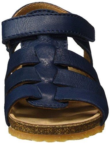 Bisgaard Sandalen, Sandalias Unisex Niños Blau (Blue)