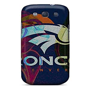 Samsung Galaxy S3 AWm4317xhrn Customized Trendy Denver Broncos Pictures Bumper Phone Cases -DannyLCHEUNG
