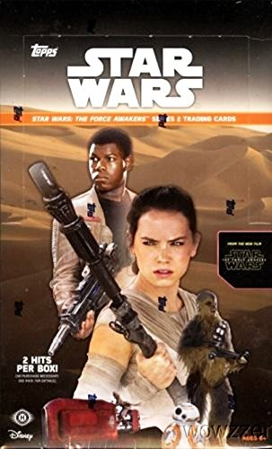 2016 Topps Star Wars the Force Awakens Series 2 HUGE Factory Sealed HOBBY Box with 24 Packs & 192 Cards! Includes TWO(2) HITS of Autographs, Sketch Cards, Medallion Cards, or Printing Plates!  HOT! (Topps Cards Sketch)