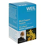 Weil Nutritional Mood Support Formula, Softgels, 90-Count Bottles (Pack of 2)