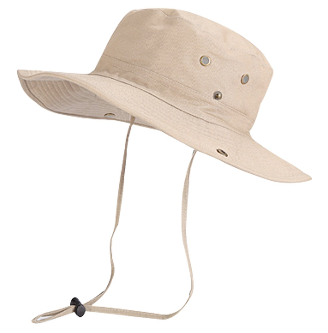 FYDRISE Sun Hats Wide Brim Chin Strap Boonie Hats for Hiking & Fishing