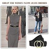 WONDAY Women Leather Belt, Geniue Leather Cute