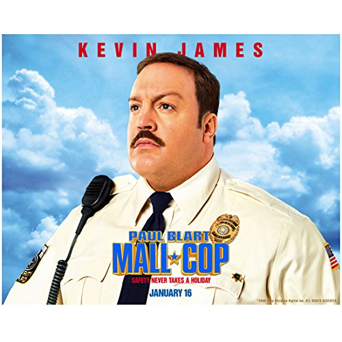 Kevin James 8 Inch x 10 Inch Photo I Now Pronounce You Chuck & Larry King of Queens Paul Blart Mall Cop Movie Poster Blue Sky - Queens The Mall