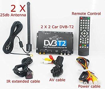 Kunfine Tv Box Fernsehen Hdtv Auto Dvb T265 Besondere Amazonde