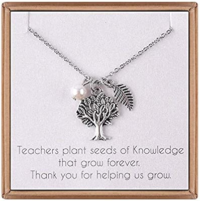 ieflife teacher s day gifts necklace tree of life necklace teach