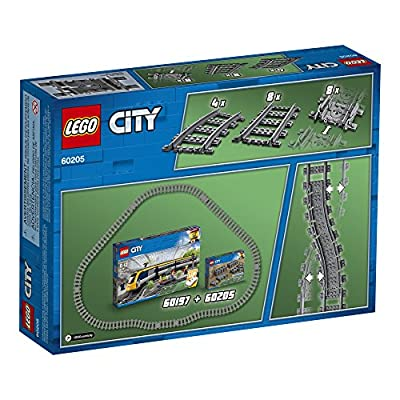 LEGO City Tracks 60205 Building Kit (20 Pieces): Toys & Games