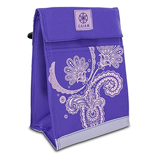Gaiam 305346 Lunch Sack Paisley