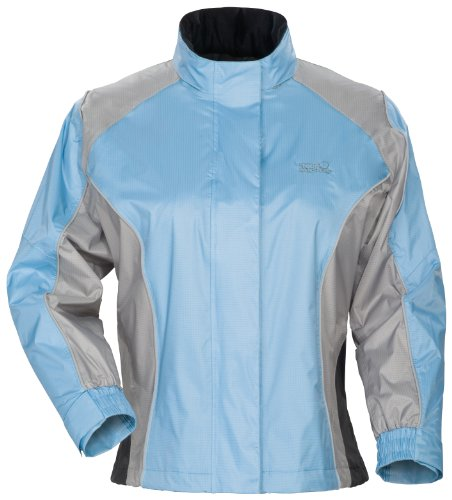 Women's Tourmaster Sentinel Light Blue Rainsuit Jacket - Size : Plus S ()