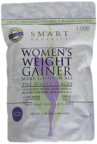 Bio Nutrition Smart Organics Women's Weight Gainer, 100 Gram