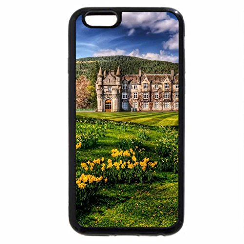 iPhone 6S / iPhone 6 Case (Black) castle balmoral hdr