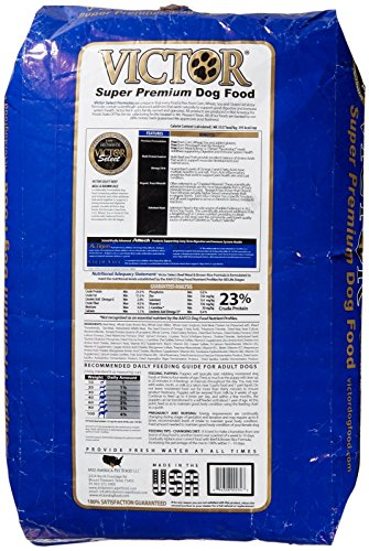 Victor Dog Food Reviews >> Victor Beef Meal & Brown Rice Dry Dog Food, 40-Pound ...