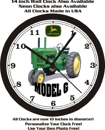 JOHN DEERE MODEL G TRACTOR WALL CLOCK-FREE USA - Thank Deere John You