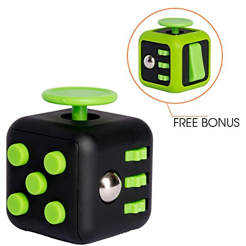 Fidget Cube Prime and Rubber Protective Cover - Relieve