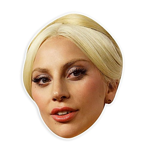 Neutral Lady Gaga Mask   Perfect For Halloween  Masquerade  Parties  Events  Festivals  Concerts   Jumbo Size Waterproof