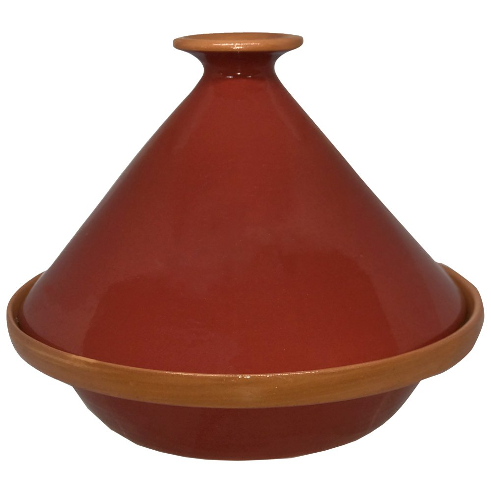 Tagine Cooking Tagine Handcraft Tagine for Cooktop or Oven - Red Color