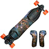 MightySkins Skin For Boosted Board 2nd generation - Eagle Nebula | Protective, Durable, and Unique Vinyl Decal wrap cover | Easy To Apply, Remove, and Change Styles | Made in the USA