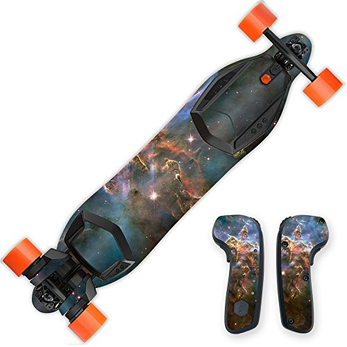 (MightySkins Skin Compatible with Boosted Board 2nd Generation - Eagle Nebula | Protective, Durable, and Unique Vinyl Decal wrap Cover | Easy to Apply, Remove, and Change Styles | Made in The USA)