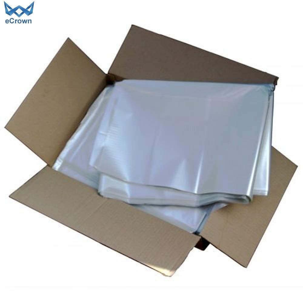 eCrown Compactor - Bolsas de basura transparentes (100 ...