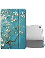 Fintie hoes case voor Samsung Galaxy Tab A 10,1 SM-T510/T515 2019, Ultradunne Stand-up Functie Hoesje Beschermhoes met Transparante Achterkant Cover voor Samsung Galaxy Tab A 10.1 2019,
