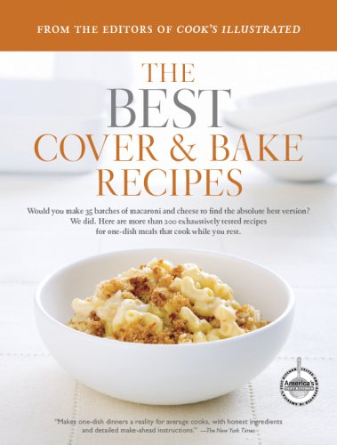 Read Online Best Cover and Bake (Best Recipe Classics Paperback) ebook