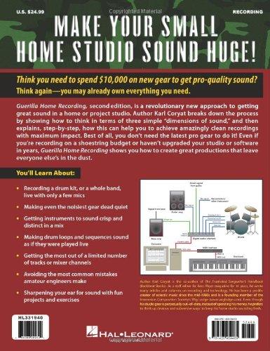 Home pdf guerrilla recording