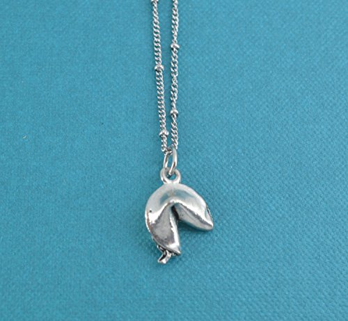 fortune-cookie-necklace-in-antique-silver-pewter-on-an-18-stainless-steel-saturn-chain-with-lobster-