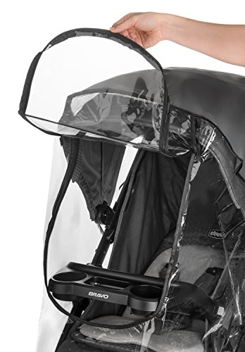 Weltru Premium Stroller Cover Weather Shield, Easy in/Out Zipper, Universal Size, Waterproof, Protects Against Wind, Rain, Snow, Insects by Weltru (Image #2)