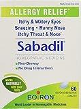 Image of Boiron Sabadil Tablets 60 tablets