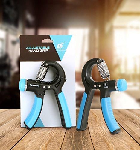 Utopia Fitness Hand Exerciser – Forearm Training – Adjustable – Non Slip Handles Wrist Training Hand Grip Resistance Strength Trainer