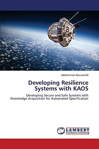 Developing Resilience Systems with KAOS ebook