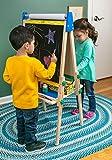 Crayola Kids Wooden Easel, Dry Erase Board