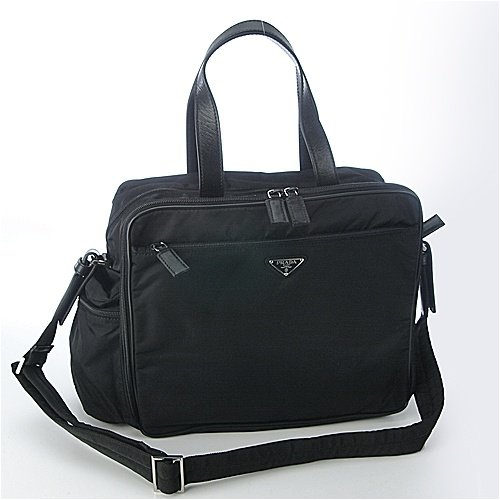 62d84c8ac766 Amazon.com: Prada Diaper Bag Vs059S - Black: Baby