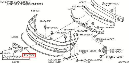 Amazon Com Infiniti Genuine Body Front Bumper Screw Grommet 62284