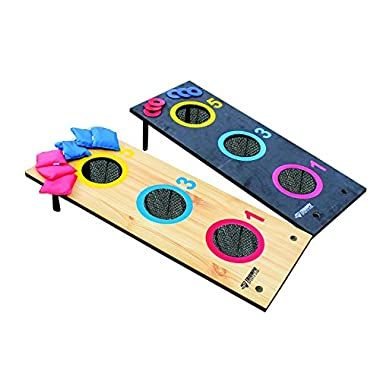 Triumph Sports 2-in-1: 3-Hole Bag and 3-Hole Washer Toss
