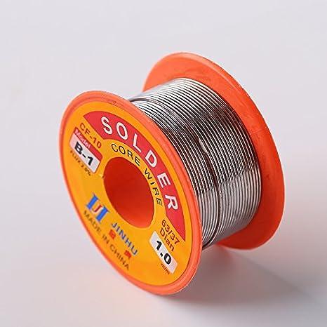 Tiptiper Cable de soldadura sin plomo con núcleo de resina, Soldadura de colofonia, estaño