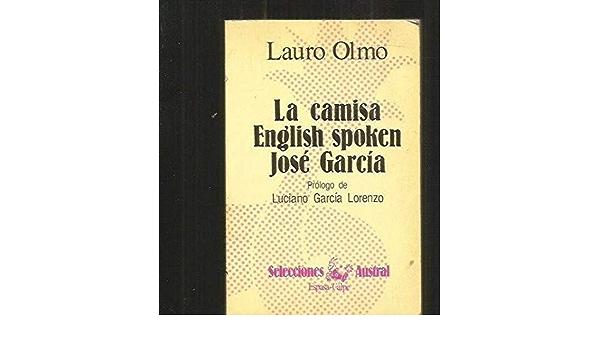 La Camisa / English Spoken / Jose Garcia : Olmo: Amazon.es ...