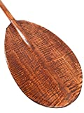 Steersman Decorative Paddle 60'' - Tiger Curls | #koa6095