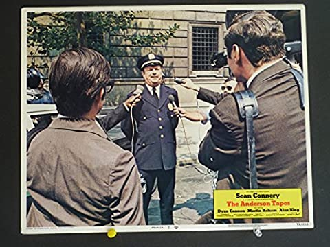 THE ANDERSON TAPES Lobby Card #7 1971/ Marilu Henner / THIS IS NOT A DVD (The Anderson Tapes Dvd)