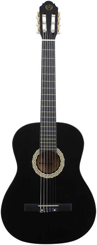 Zerone Guitarra de madera de 39 pulgadas, guitarra clásica de ...