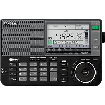 Sangean ATS-909X BK AM/FM/LW/SW World Band Receiver Black