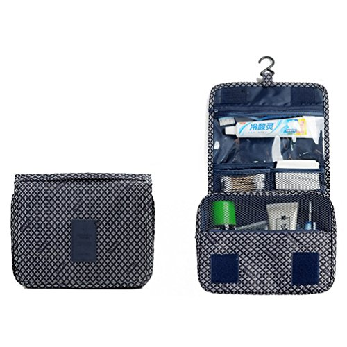 Ac.y.c Hanging Toiletry Bag-Portable Travel Organizer Cosmetic Make up Bag case for Women Men Shaving Kit with Hanging Hook for vacation