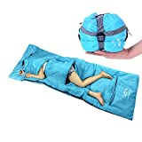 Ultra-light Outdoor Sleeping Bag for Summer Season Envelope Sleeping Bag (Blue)
