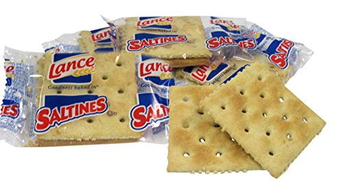 Lance Saltines Crackers, 500 Count Single-Serve