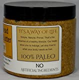 Base Culture - Gingerbread Almond Butter Gluten Free Certified, 100% Paleo Certified, Grain Free, Dairy Free & Soy Free, 16 Ounces (1 Jar)