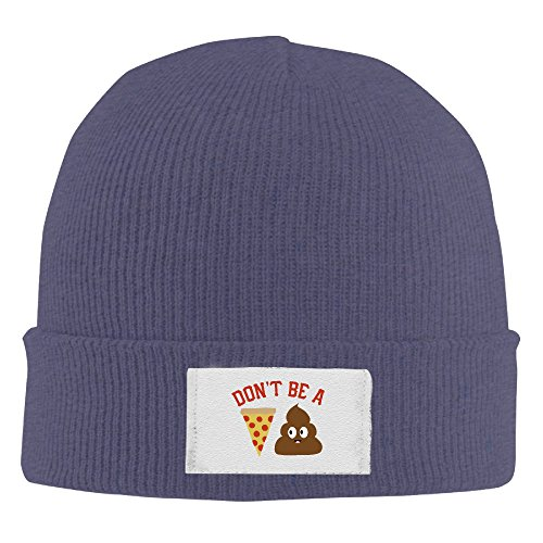 dont-be-a-pizza-poop-adjustable-cool-roll-knit-beanie-fashion-cap