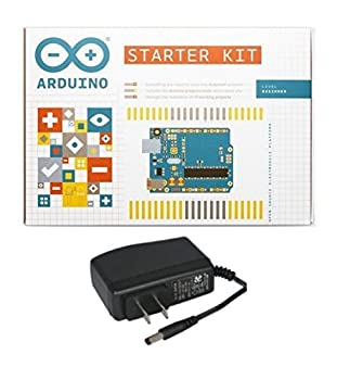 ARDUINO K000007 Starter Kit with Compatible 9V Wall Adapter