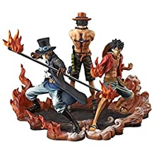 Banpresto One Piece DXF Figure, Brotherhood II Set of 3