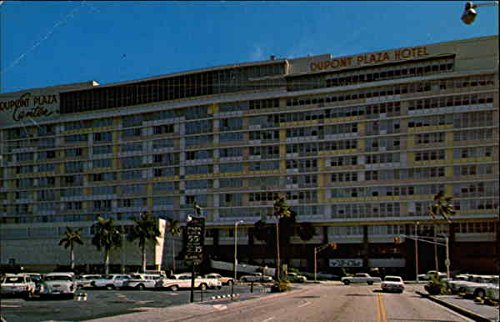 The Dupont Plaza Center Miami, Florida Original Vintage - Plaza Center
