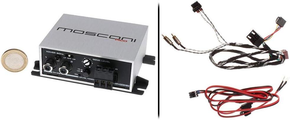 Mosconi Gladen Pico 2 con ISO anschlusskit – Mini Auto Amplificador con Cable de conexión ISO: Amazon.es: Electrónica