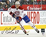 Alex Galchenyuk Montreal Canadiens Autographed 8'' x 10'' Skating With Puck Photograph - Frameworth - Fanatics Authentic Certified
